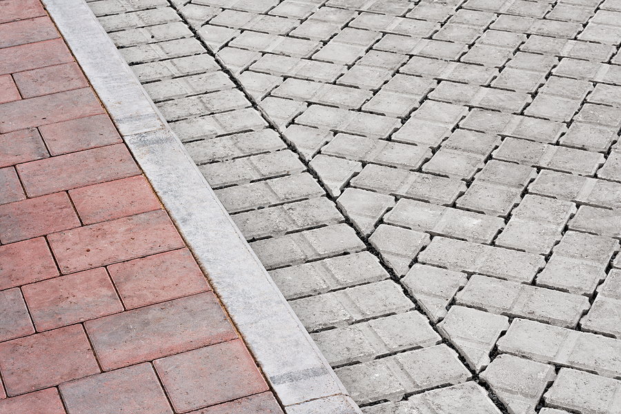 Brick Pavement And Drive